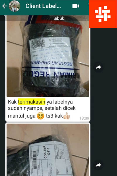 Testimoni Devote Label